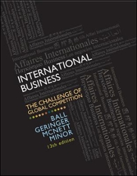 MP International Business with CESIM Global Challenge Simulation Access Card 13th Edition 9780077606121 0077606124