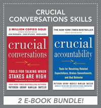 Crucial Conversations Skills 1st edition 9780071796262 0071796266