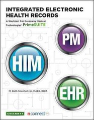 Integrated Electronic Health Records w/ PrimeSuite EHR Connect Plus 1st edition 9780077598549 0077598547