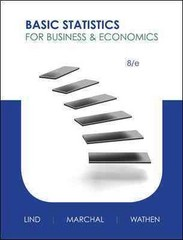 Basic Statistics for Business and Economics with Connect Plus 8th edition 9780077922627 007792262X