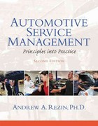 Automotive Service Management 2nd edition 9780133109009 0133109003