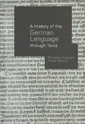 A History of the German Language Through Texts 0 9781134671892 113467189X