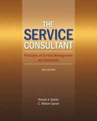 The Service Consultant 2nd Edition 9781285806556 1285806557