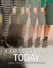 Corrections Today 2nd Edition 9781133933656 1133933653