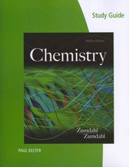 Study Guide for Zumdahl/Zumdahl's Chemistry 9th edition 9781133611509 1133611508