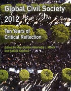 Global Civil Society 2012 1st Edition 9780230367876 0230367879