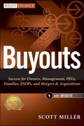 Buyouts, + Website 1st edition 9781118229095 1118229096