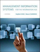 Loose-Leaf Management Information Systems for the Information Age 9th Edition 9780077437435 0077437438