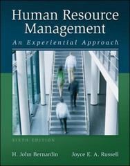 Human Resource Management with Premium Content Access Card 6th Edition 9780077602963 007760296X