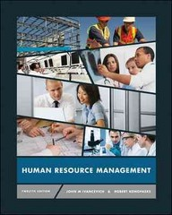 Human Resource Management 12th Edition 9780078029127 0078029120