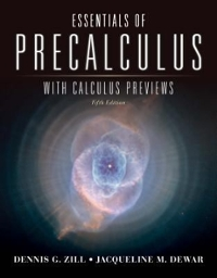 Essentials of Precalculus with Calculus Previews 5th Edition 9781449614980 1449614981
