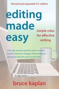 Editing Made Easy 1st Edition 9780942679366 0942679369