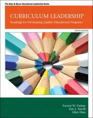Curriculum Leadership 10th Edition 9780132852159 0132852152