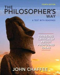 The Philosopher's Way 4th Edition 9780205254699 0205254691