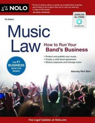 Music Law 7th Edition 9781413317435 141331743X