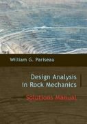 Solutions Manual to Design Analysis in Rock Mechanics 1st Edition 9780203932506 0203932501