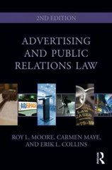 Advertising and Public Relations Law 2nd Edition 9780415965484 0415965489