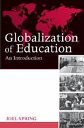Globalization of Education 1st Edition 9780203886854 0203886852