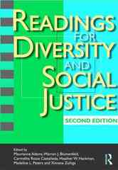Readings for Diversity and Social Justice 2nd edition 9780415991407 0415991404