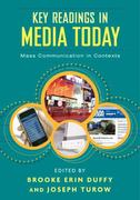 Key Readings in Media Today 1st Edition 9780415992053 0415992052