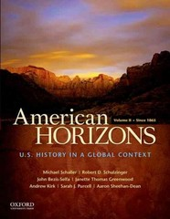 American Horizons 1st Edition 9780195369533 019536953X