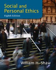 Social and Personal Ethics 8th edition 9781133934738 1133934730