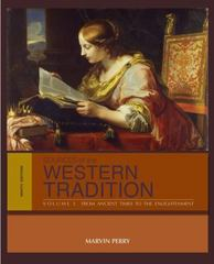 Sources of the Western Tradition 9th Edition 9781133935254 1133935257