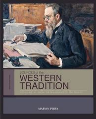 Sources of the Western Tradition 9th Edition 9781285657592 1285657594