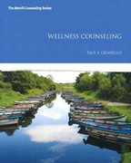 Wellness Counseling 1st Edition 9780132996570 013299657X