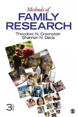 Methods of Family Research 3rd edition 9781412992831 1412992834