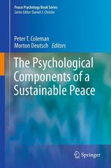 The Psychological Components of a Sustainable Peace 0 9781461435549 1461435544
