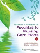 Lippincott's Manual of Psychiatric Nursing Care Plans 9th Edition 9781609136949 1609136942