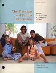 Cengage Advantage Books: The Marriage and Family Experience 12th edition 9781133936503 1133936504