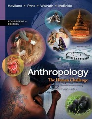 Anthropology 14th Edition 9781285677583 1285677587