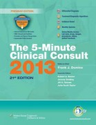 The 5-Minute Clinical Consult 2013 21st Edition 9781451183740 1451183747