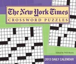 The New York Times Crossword Puzzles 2013 Day-to-Day Calendar 0 9781449419530 1449419534