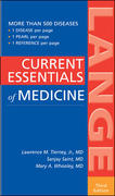Current Essentials of Medicine 3rd edition 9780071438322 0071438327