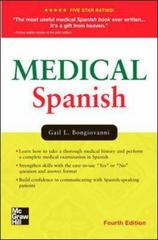 Medical Spanish, Fourth Edition 4th Edition 9780071442008 0071442006