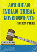 American Indian Tribal Governments 1st Edition 9780806125640 0806125640