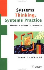 Systems Thinking, Systems Practice 1st Edition 9780471986065 0471986062