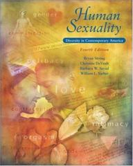 Human Sexuality 4th edition 9780767421706 0767421701