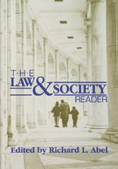The Law and Society Reader 1st Edition 9780814706183 0814706185