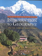 Introduction to Geography 6th edition 9780697361554 0697361551