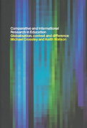 Comparative and International Research In Education 1st edition 9780415191227 041519122X