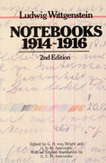 Notebooks, 1914-1916 2nd edition 9780226904474 0226904474