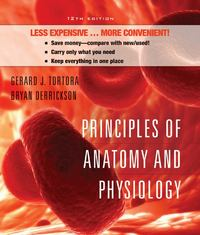 Principles of Anatomy and Physiology, Twelfth Edition with Atlas and registration card Binder Ready Version 12th edition 9780470279878 0470279877