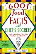 6001 Food Facts and Chef's Secrets 0 9780964674103 0964674106