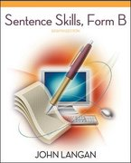 Sentence Skills: A Workbook for Writers, Form B 8th edition 9780073533278 0073533270