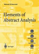 Elements of Abstract Analysis 1st edition 9781852334246 185233424X