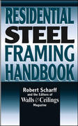 Residential Steel Framing Handbook 1st edition 9780070572317 0070572313